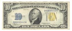 10 dollár 1934 A USA Észak Afrika III.