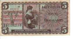 5 dollár 1968 USA Military