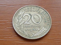 FRANCIA 20 CENTIMES 1963