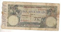 100000 lei 1946 Románia III.
