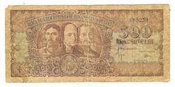 500 lei 1949 Románia