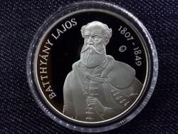 Batthyány Lajos ezüst 5000 Forint 2007 PP UNC