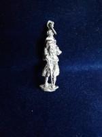Ezüst csodaszép figurális miniatűr 925-ös