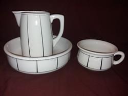 Art Deco porcelán mosdó készlet.