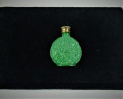 Csodás malachit parfümös üveg