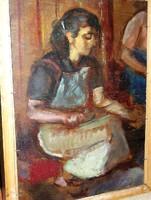 PIRK  JÁNOS eredeti olajfestménye garanciával, közvetlenül a művésztől vásárolva