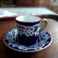 Antik kávés csésze