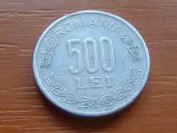 ROMÁNIA 500 LEI 2000 ALU.