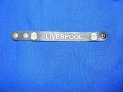 Liverpool szilikon szurkolói karkötő foci , labdarúgás