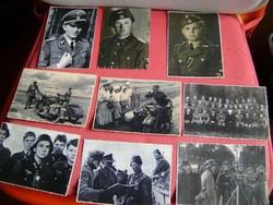 32  darabból álló II. vhs. birodalmi fotó gyűjtemény