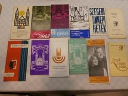 Szegedi Szabadtéri Játékok műsorfüzetek