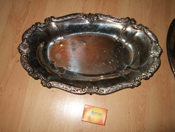 Asztal közép vastagon ezüstözőt