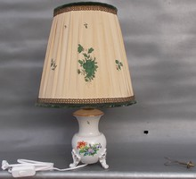 Herendi porcelán asztali lámpa