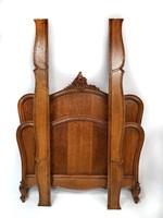 Barokk ágykeret felújítva