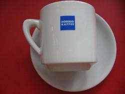 Retro HORNIG KAFFE vastag kávés csésze