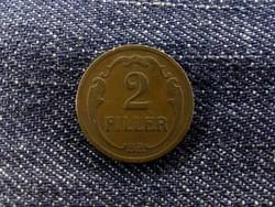 Nagyon ritka 2 fillér 1933
