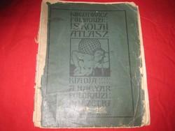 Kugotowitz  Manó :Földrajzi  Atlasza 1913 ból