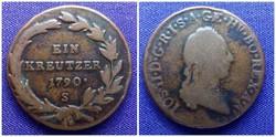 1 krajcár 1790 S