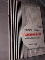 Integrállevél – Matematikai írások 1986.1500.-Ft