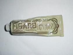 Retro krém fém tubus - FIGARO nem habzó borotvakrém - CAOLA gyártó - 1980-as évek