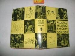 Rádió és televízió évkönyv 1968-1969