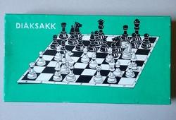 Régi retro Diáksakk társasjáték társas játék sakk