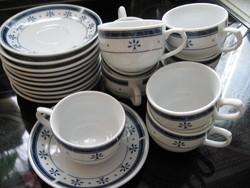 Shabby KORONA minőségi porcelán presszós szett