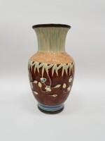 Szecessziós kerámia váza