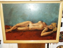 Gácsi Mihály EREDETI alkotása,70x100-s olaj farost
