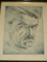 Vadon Benjamin: Önarckép, 1935