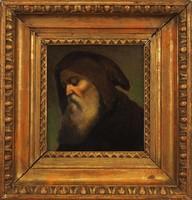 Ismeretlen festő: Csuhás portré, 19. század