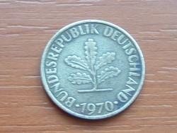 NÉMET NSZK 10 PFENNIG 1970  G