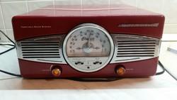 Retro rádiós lemezjátszó eladó!