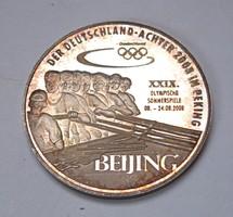 Pekingi olimpia 2008, Német ezüst emlékérem.