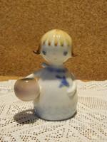 Aquincumi aqva festésű angyal.