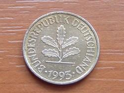 NÉMET NSZK 5 PFENNIG 1993  D