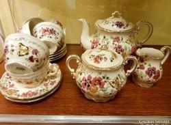 Zsolnay 6 szemelyes teás készlet