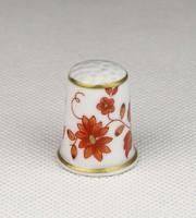 0U758 Hollóházi porcelán gyűszű SC/B