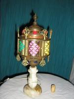 Gyönyörű, antik , keleti lámpa