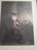 Rembrand rézkarc