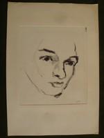 Polák János - Női Portré