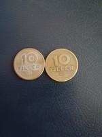 1946-1947 10 Fillér EF