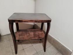 Retro kis asztal, dohányzó asztal