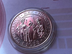 Szt István ezüst 500 Ft 28 gramm 0,900