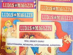 1977 január  /  LUDAS MAGAZIN  /  SZÜLETÉSNAPRA RÉGI EREDETI ÚJSÁG Szs.:  4367