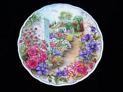 """Royal Albert """"Titkos kert"""" 1993. dísztányér"""