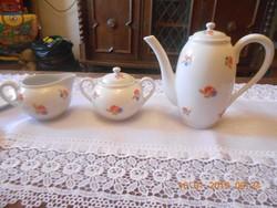 Zsolnay antik kávé kínáló szett