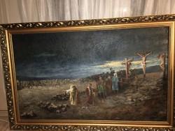 Nagy méretű festmény