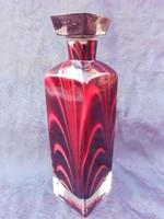 Muránói likőrös ,pálinkás üveg kb 7dl.Ritka.Nagyon szép darab.