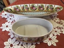 Altwien porcelán tálak